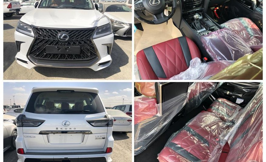 Lexus LX570 KURO White Edition 2020