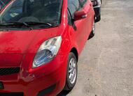 Toyota vitz 2009 Red