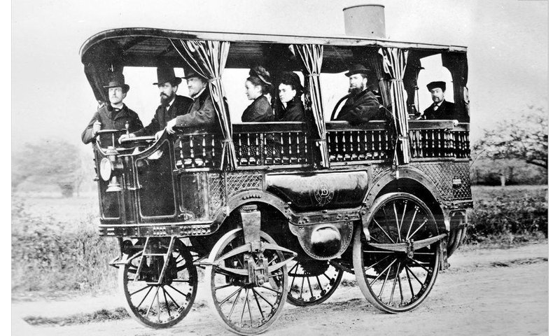 World's first bus