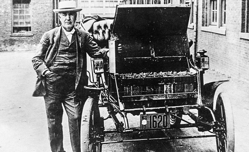 The first electro auto.